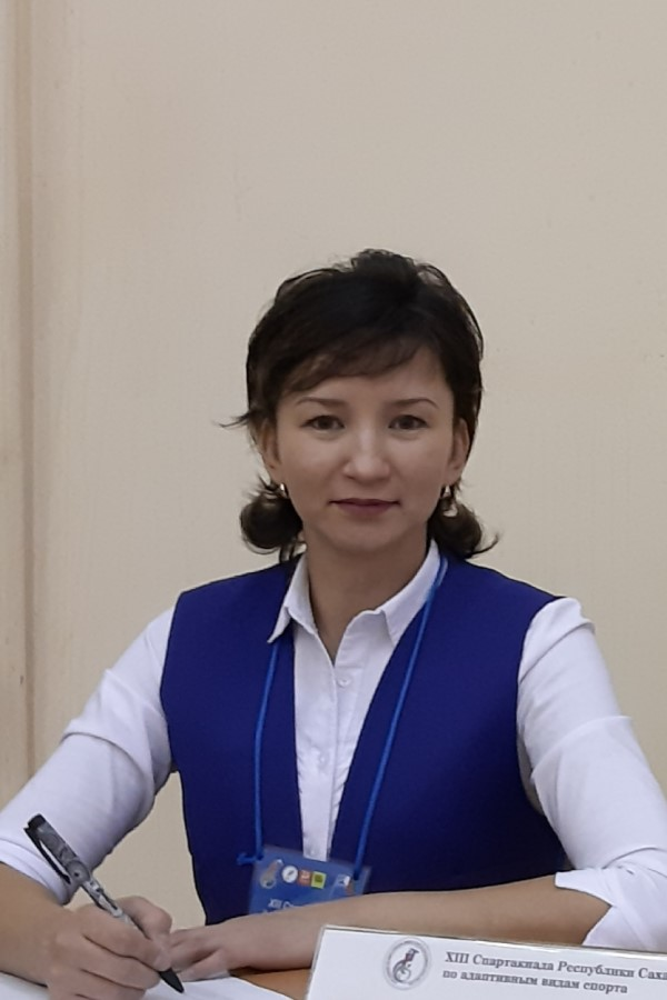 Данилова Ньургуйаана Степановна